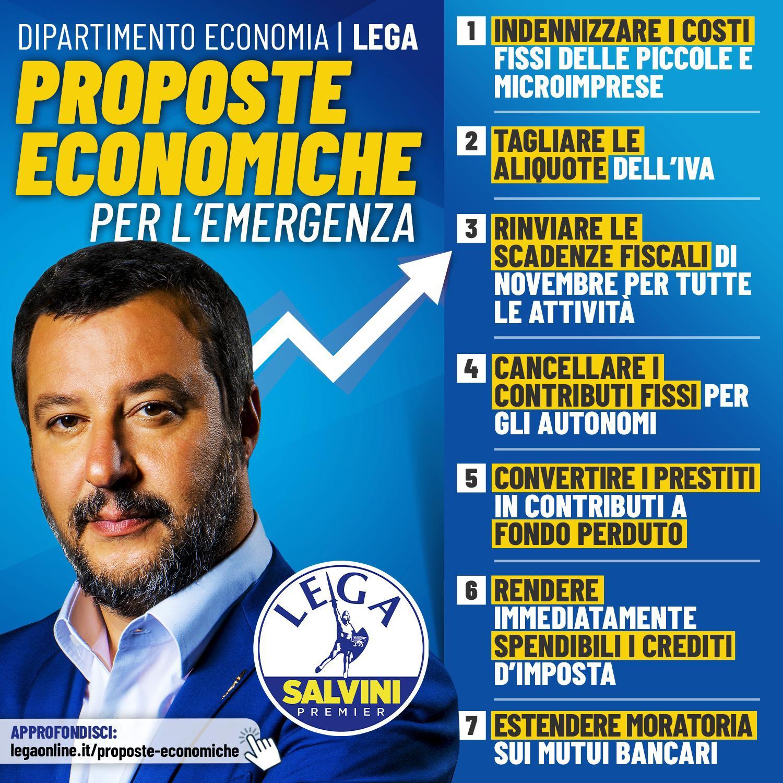 Proposte economiche per l'emergenza COVID-19