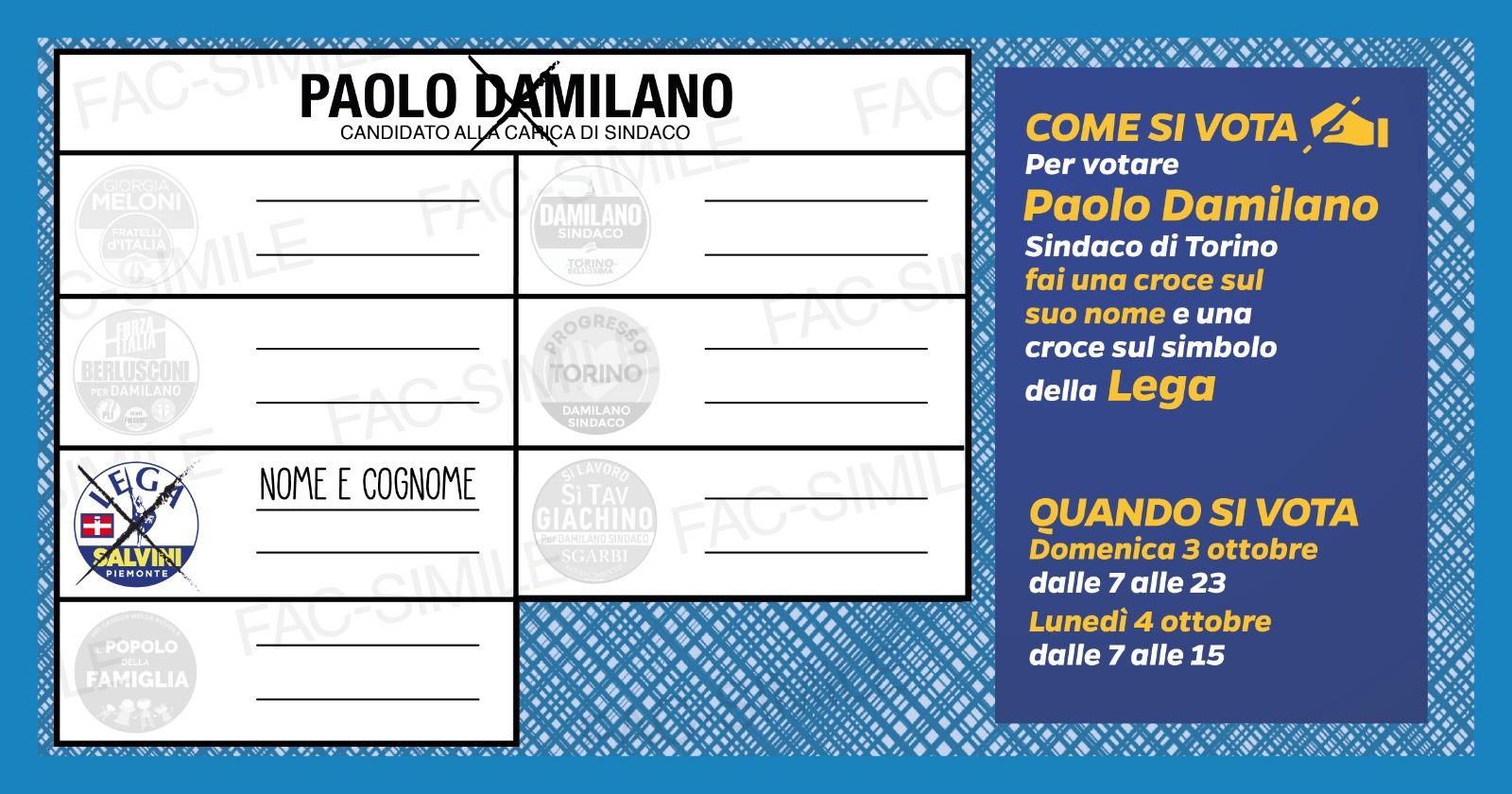 Come si vota a Torino
