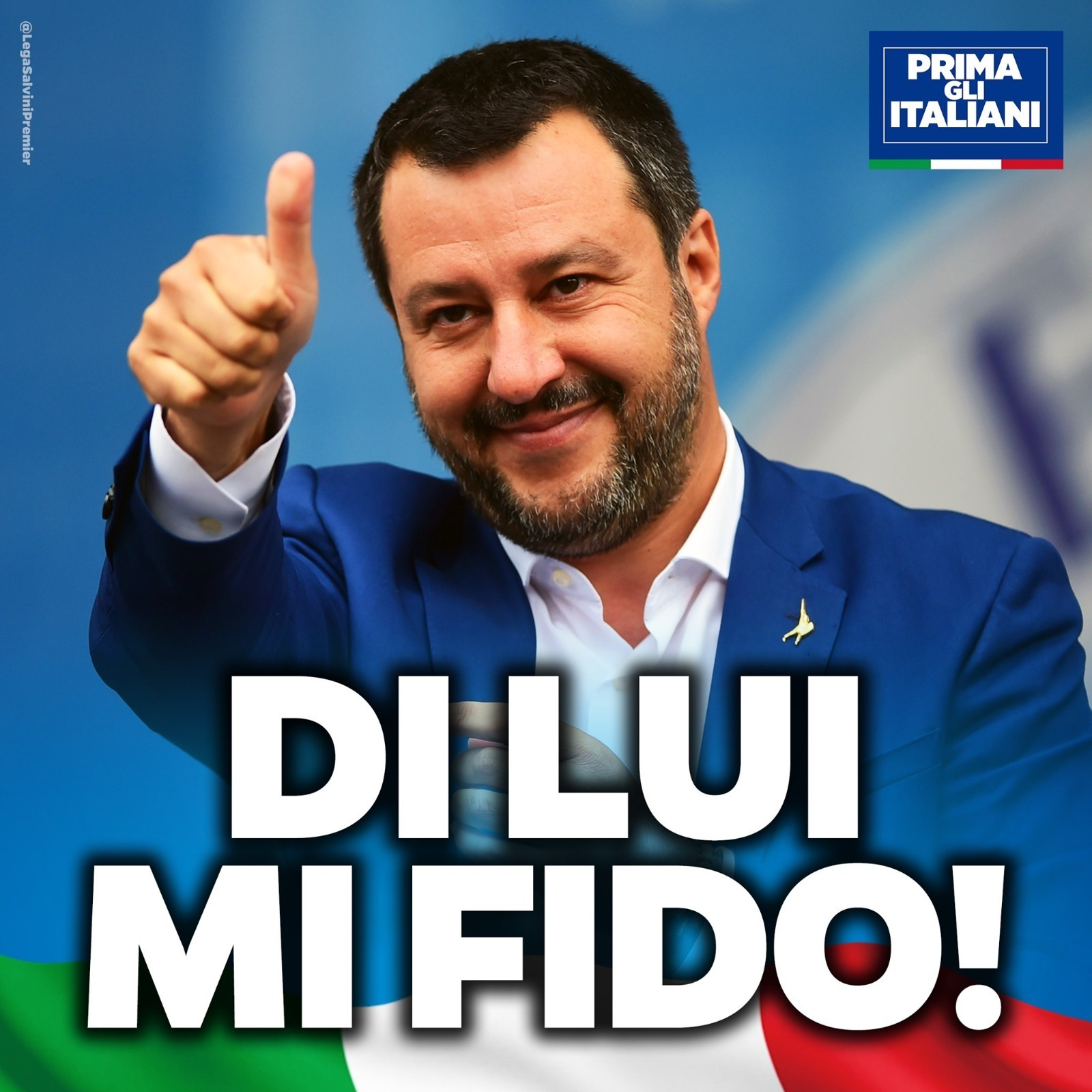 DI LUI MI FIDO!