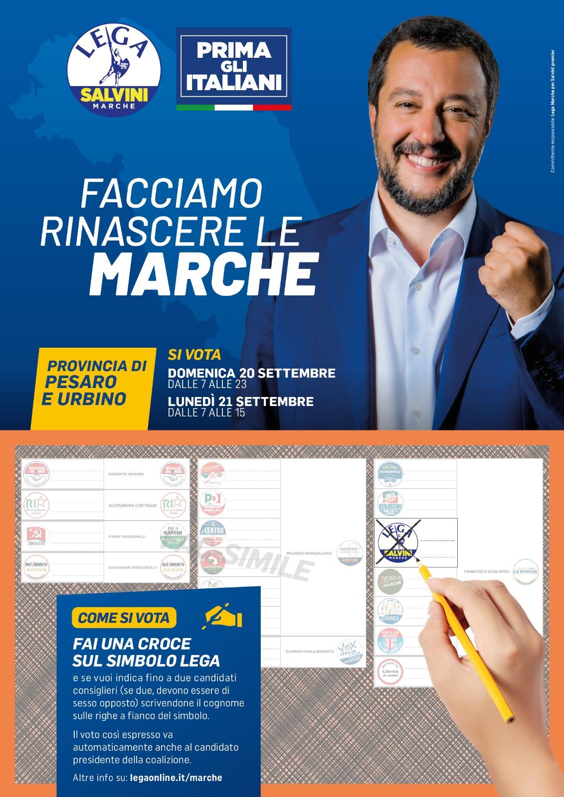 Come si vota: Pesaro e Urbino