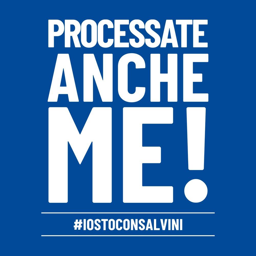 PROCESSATE ANCHE ME! #IOSTOCONSALVINI