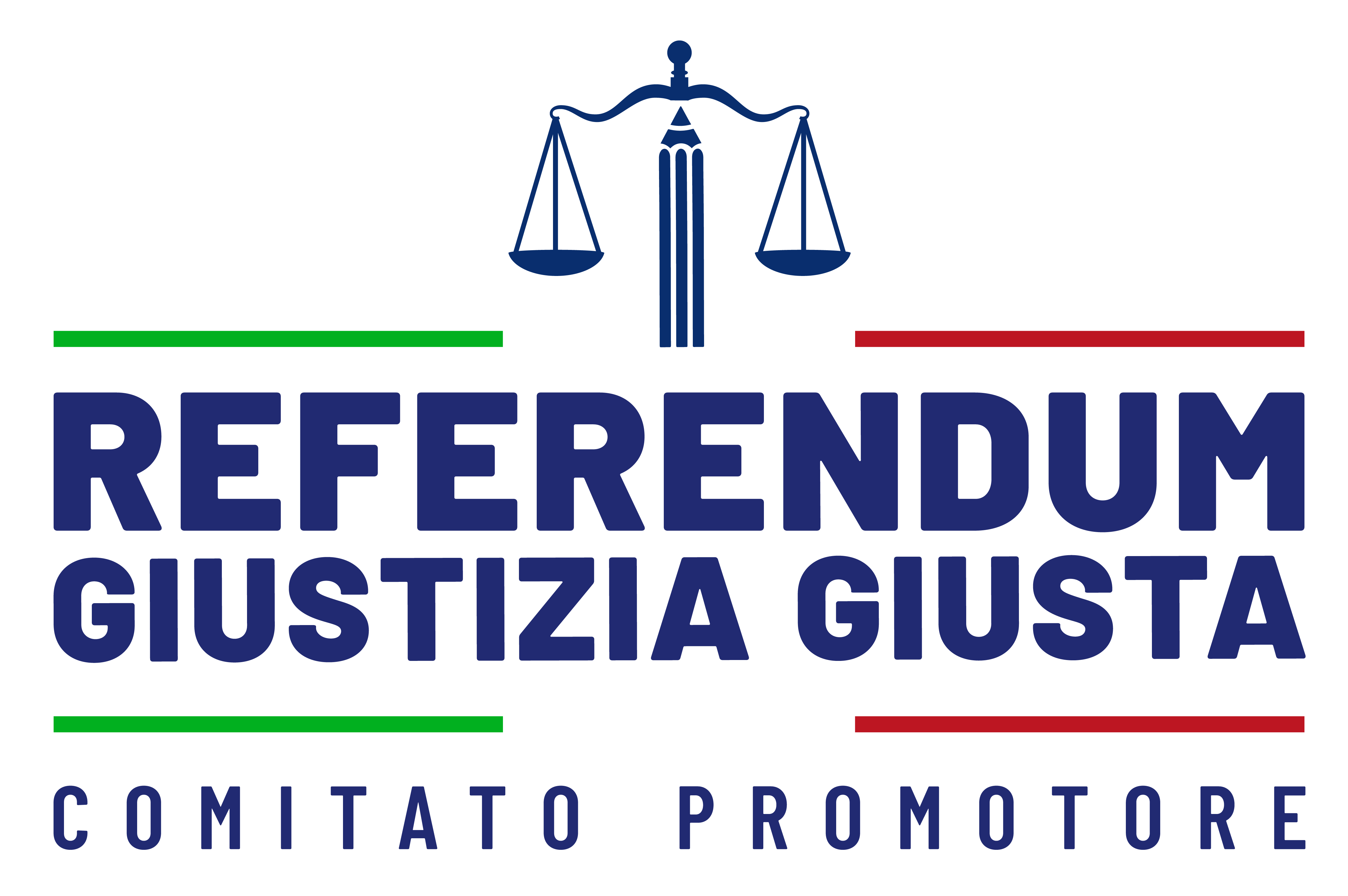 Logo Comitato promotore REFERENDUM GIUSTIZIA GIUSTA