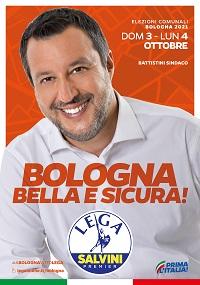 Il 3 e 4 ottobre a Bologna vota Lega